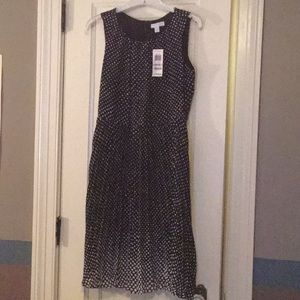 NWT charter club size 6P. Black and white
